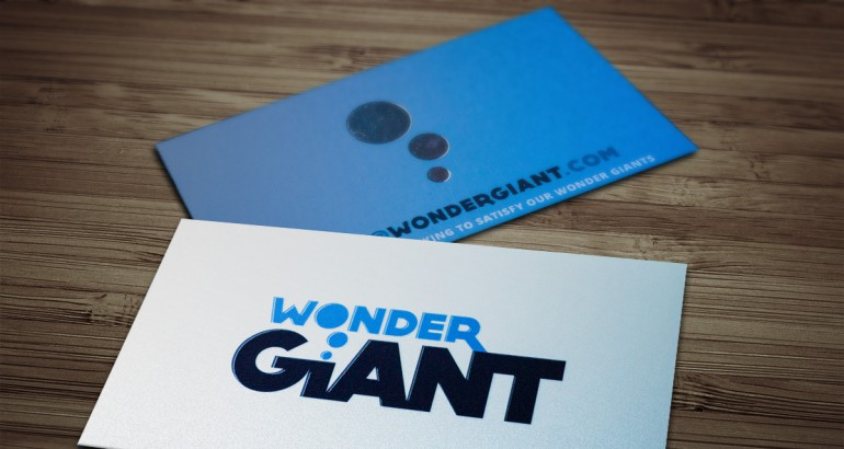 Wonder Giant Cards Mockup