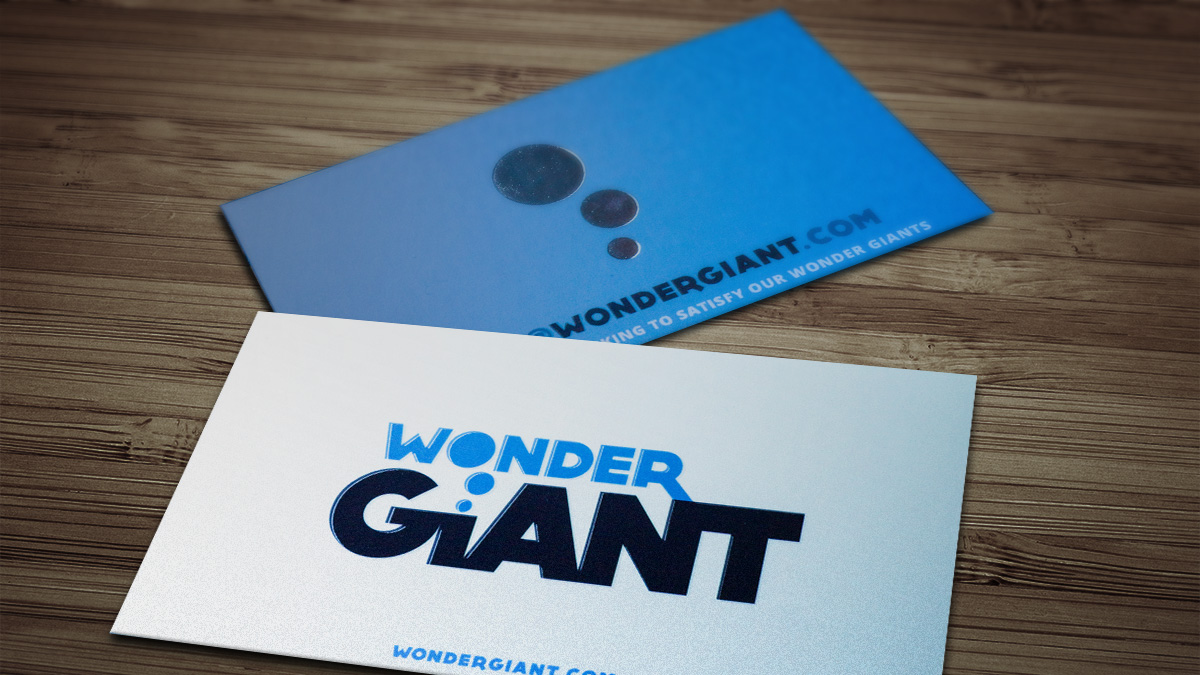 Wonder Giant Cards Mockup