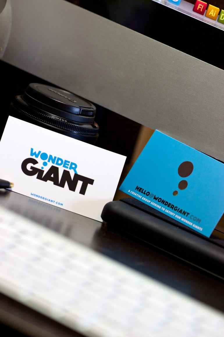 wonder giant business cards