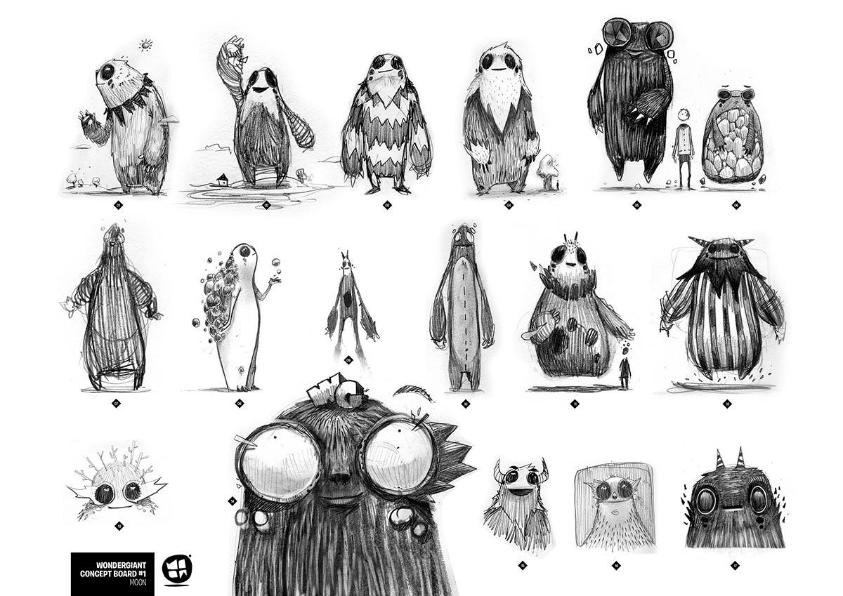Olivier Sketches