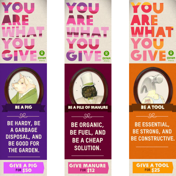 Oxfam Banners