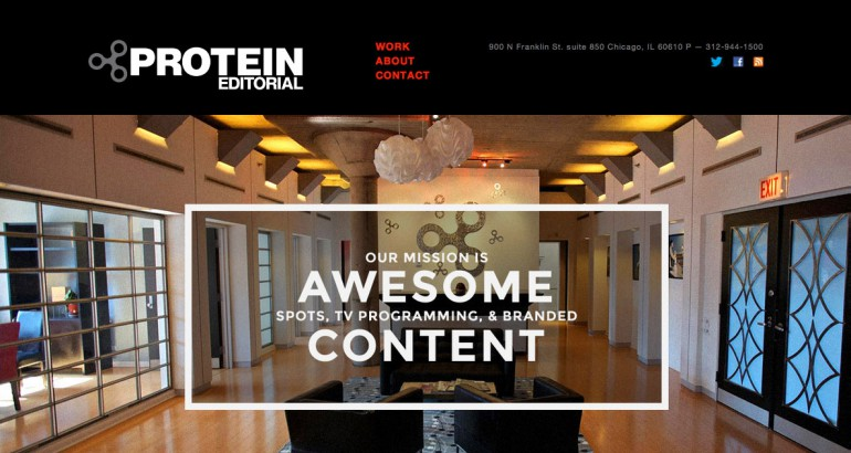 protein editorial screenshot