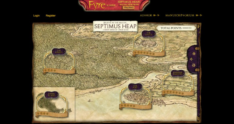 Septimus Heap Map