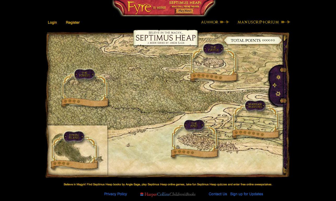 Septimus Heap Map