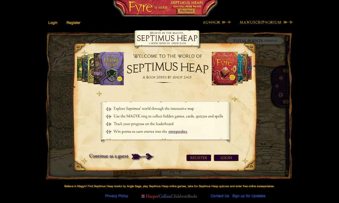 Septimus Heap Intro